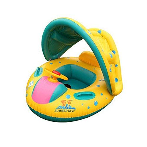 TOYMYTOY-Flotador-Para-Beb-Piscina-hinchable-para-bebe-amarillo