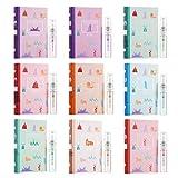 Beaupretty mini set de regalo de perfume muestra de spray de perfume de fragancia para mujer set de regalo de navidad del día de san valentín 9 piezas