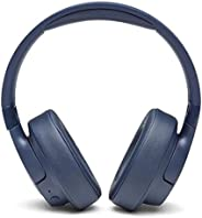 JBL Tune 750BTNC Over-Ear Wireless Active Noise-Cancelling Headphones with 15 Hours Playtime (Blue)