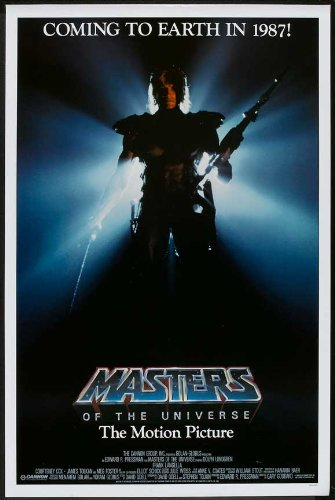 Masters of the Universe Plakat Movie Poster (27 x 40 Inches - 69cm x 102cm) (1987) B (1987 Plakat)