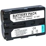 Maxsimafoto - High Power 2100mAh ! NP-FM500H, NP-FM500 Compatible Battery for SONY Alpha a200, a300, a350, a450, a500, a550, a560, a700, a850, a900.