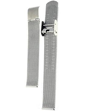 Edelstahl Milanaise Uhrenarmband verschiedene Breiten auch für Skagen, Breite:18 mm