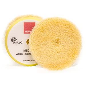 Lot de 4Rupes Bigfoot jaunes coton Pads Medium 30/40mm pour Nano ibrid