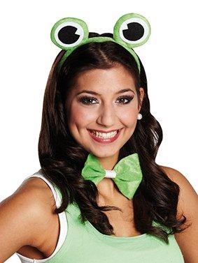 Froschkostüm Kostüm Frosch Froschset 2 teilig grün Kröte (Frosch Augen Kostüm)