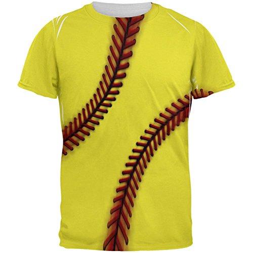 Fastpitch Softball aller Herren-T-Shirt Multicoloured