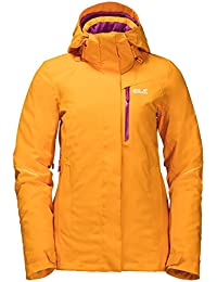 Jack Wolfskin W EXOLIGHT RANGE JACKET, Citrine Yellow
