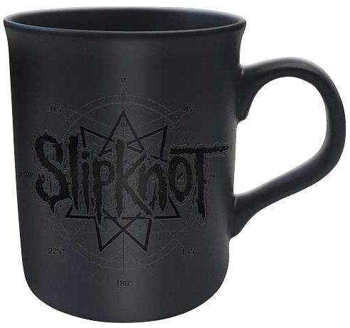 Slipknot Logo Star Tasse mattschwarz