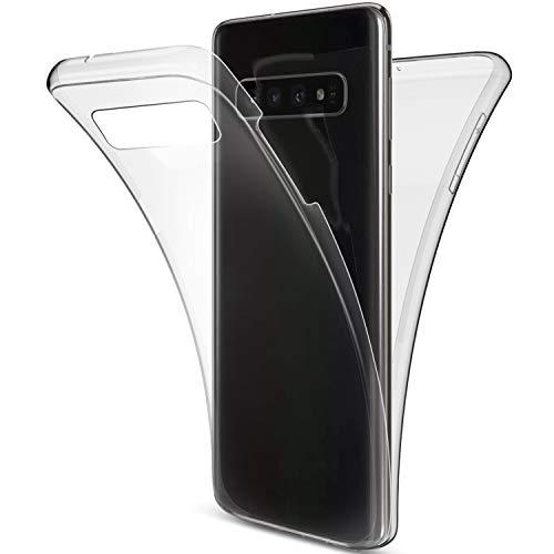 Herbests Kompatibel mit Samsung Galaxy S10 Handyhülle 360 Grad Double Side Beidseitiger Cover...