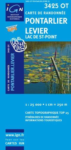 Pontarlier / Levier / Lac de St-Point gps: IGN.3425OT