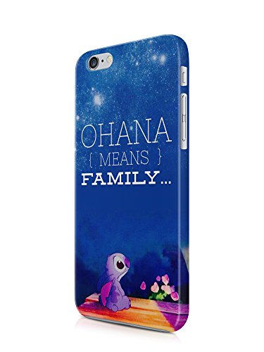 LILO AND STITCH DISNEY COMEDY OHANA LILO STITCH LOVELLY SWEET Full 3D effect Phone case cover shell for apple Iphone and Samsung- IPHONE 8 PLUS - 5