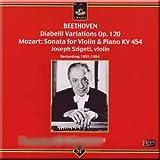 Beethoven - Diabelli Variations, Mozart - Sonata for Violin and Piano - Horszowski