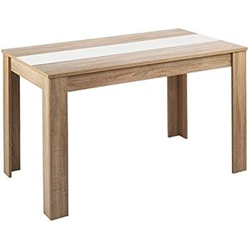 Esstisch Holz Pinie massiv Tisch 140 x 80 nussbaum Kolonial Küchentische Tische