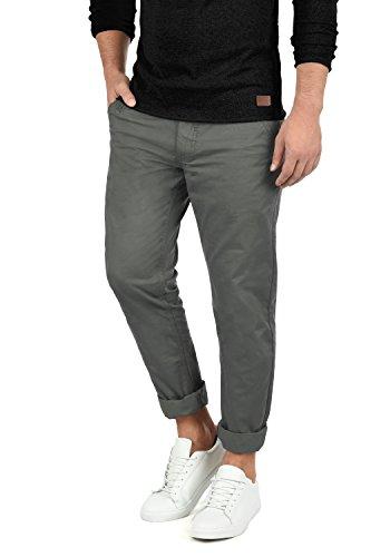 Blend Tromp Herren Chino Hose Stoffhose Aus 100% Baumwolle Regular Fit, Größe:W32/30, Farbe:Granite (70147)