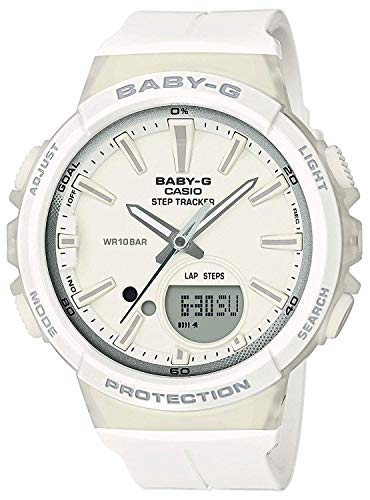 BABY-G Damen Analog-Digital Quarz Uhr mit Harz Armband BGS-100SC-7AER