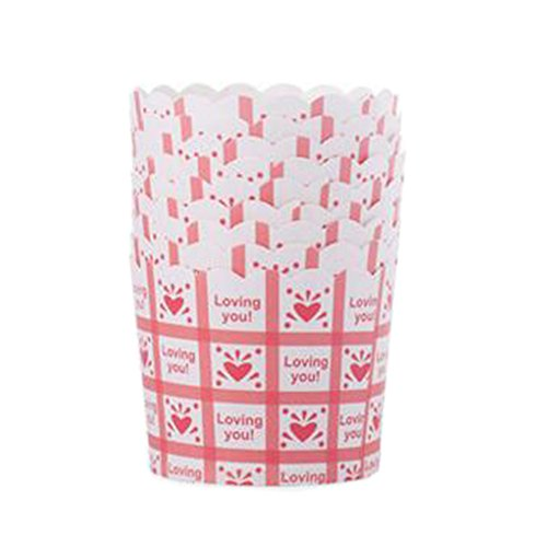 Blancho 96 PCS Tasse de Cupcake de papier de cuisson, Tasse de moule de cupcakes créative #19