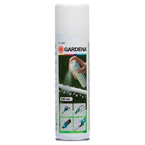 Gardena Spray de Nettoyage - Soin pour l'Entretien des Outils de Jardinage, Biodégradable, Contenu 200 Ml (2366-20)
