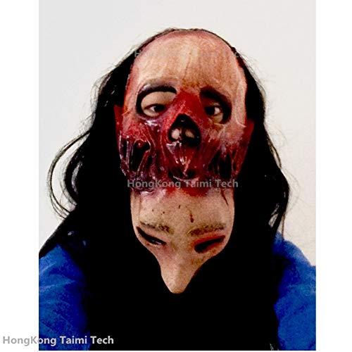 Kostüm Erwachsene Fäulnis Für - FLTVSN Halloween-Maske Fäulnis Gruselige Maske Übermütige Übelkeit Parasit Zombie Maske Latexverfall Vampir Halloween Schädel Terror Masken Horror Maske