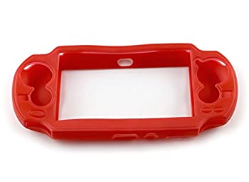 Silicone Rubber Skin Cover Case For Sony Ps Vita (Psv Pch-1003) - Red 0