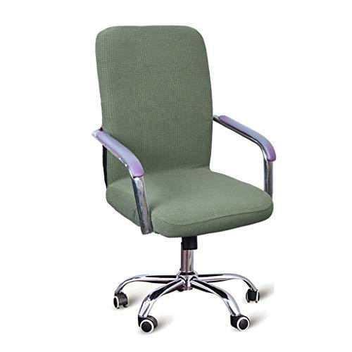 XZ Stuhlhussen Stuhlbezug Stretch Elastische Bürostühle Stuhl Schonbezug Universal Elastisch Sessel Drehen Essen Stuhl Fit Sitzschutz,8,S (Sicher Fit Sessel Schonbezug)