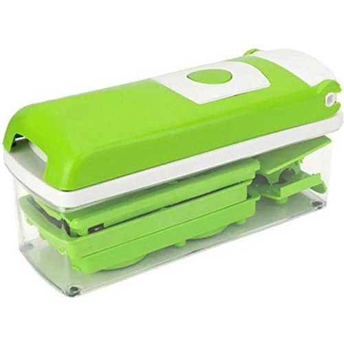 RETAILSHOPPING High Quality & Durable Nicer and Dicer Plus Multi Chopper Vegetable Cutter Fruit Slicer  available at amazon for Rs.499