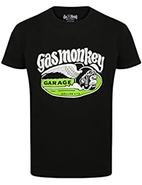 Gas Monkey Garage T-Shirt Cigar Monkey Black - bekannt aus Fast N' Loud