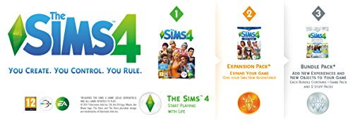 The Sims 4 Bundle Pack 7 Box with Download Code screenshot