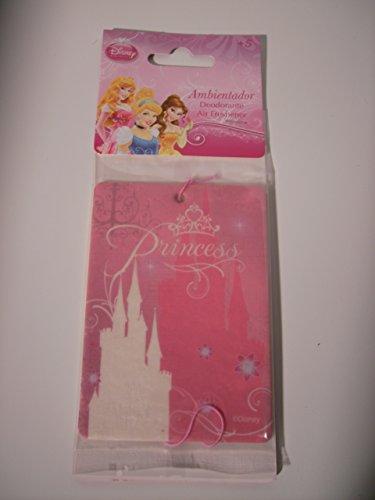 Preisvergleich Produktbild Disney Lufterfrischer / Duftbaum / Wunderbaum Versch. Motive (Princess Schloß)