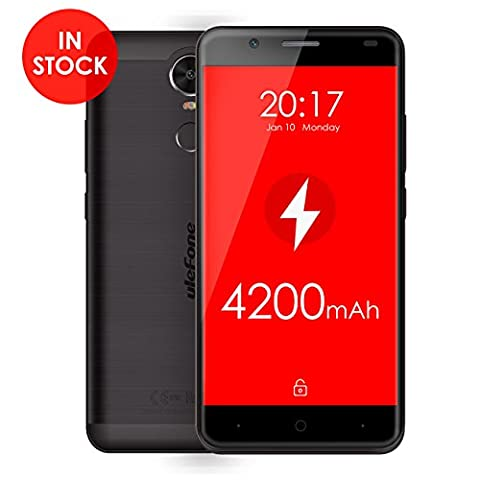 Ulefone Tiger 4G FDD-LTE Smartphone 5,5 Zoll Android 6,0 MT6737 Quad Core 4200mAh Akku Fingerabdruck-Scanner Smart Wake -