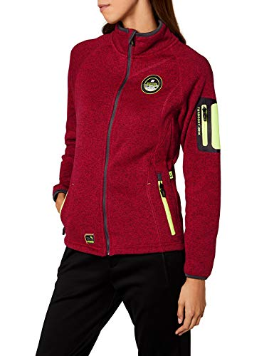 Geographical Norway Damen Trapeze Lady Jacke, Rosa (Flashy Pink), Large (Herstellergröße: 3)