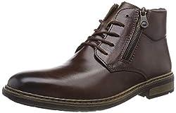 Rieker Herren F1233 Klassische Stiefel, Braun (Havanna 25), 44 EU