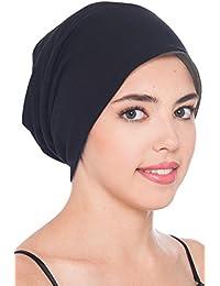Unisex Reversibel Beanie für Krebs, Haarausfall - Baumwollkappe für Chemotherapie, Schlafmütze für Haarausfall