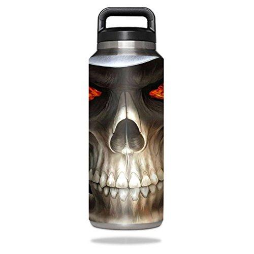 MightySkins Schutzfolie für YETI Rambler Bottle 91,4 ml Wrap Cover Sticker Skins Evil Reaper