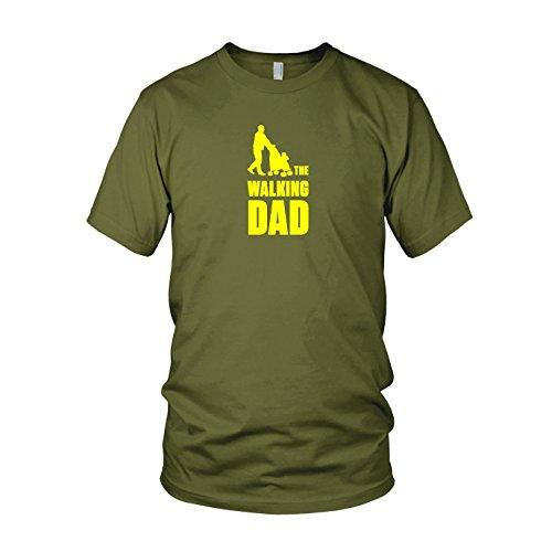 The Walking Dad - Herren T-Shirt, Größe: L, Farbe: Army (Walking Dead Staffel 5 Box Set)