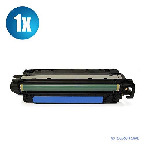1x Eurotone Remanufactured Toner für HP Color Laserjet Enterprise Flow MFP M 577 c ersetzt CF361A 508A