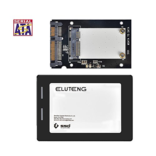 Notebook-pata-festplatte (ELUTENG mSATA auf SATA Adapter 6Gbps mSATA Gehäuse auf 2,5