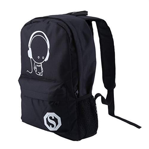 Preisvergleich Produktbild OUTAD Luminous Student Schultasche Lässig Rucksack Männer Pack Reise Rucksack