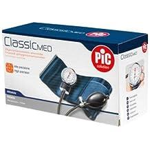 Pic ClassicMed Medidor de presión arterial Manual mecánico de brazo aneroide sin fonendoscopio.