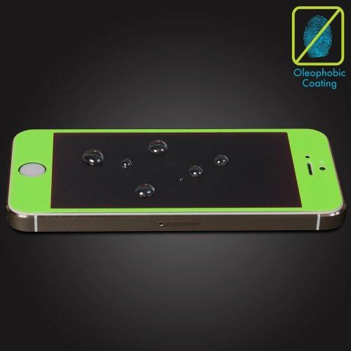 GreatShield GS00197 screen protector - screen protectors (Apple iPhone 5/5s/5c, Mobile phone/smartphone, Apple, green) green