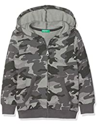 United Colors of Benetton Jacket W/Hood L/S, suéter para Niños