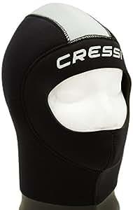 Cressi Castoro Plus Cagoule de plongée en néoprène pour homme noir Noir Small/2 Years