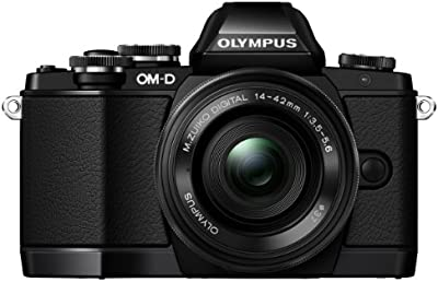 Olympus OM-D E-M10 - Cámara EVIL de 16.1 Mp (pantalla táctil abatible 3