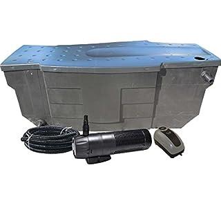 Akwado MBC-8000 Teichfilter-Set mit Pumpe und UVC - 8000L