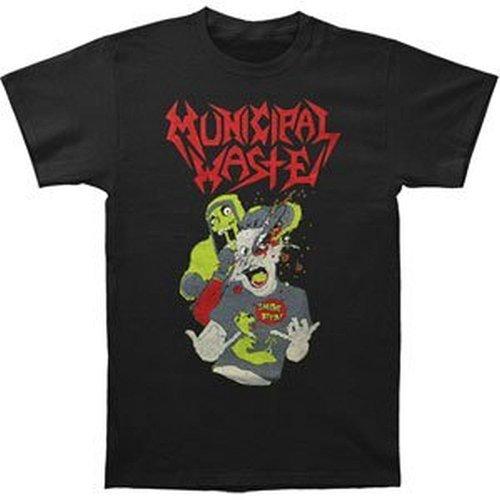 Ill Rock Merch Municipal Waste - Smoke Beer T-Shirt (Small)