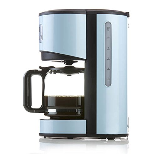 Domo Coffee Maker, 1.5 Litre, Vintage Blue