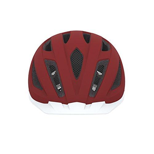 Abus Erwachsene Fahrradhelm Pedelec, marsala red, 52-57 cm, 12757-1 - 2