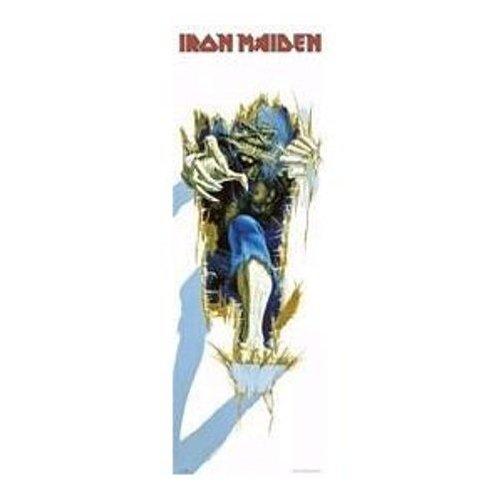 1art1 32256 Poster da porta Iron Maiden, Eddy, 158 x 53 cm
