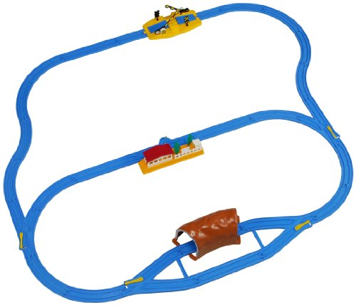 Takaratomy Plarail Starter Rail Basic Set (TRAINS NOT INCLUDED) [JAPAN] [Toy] (japan import)