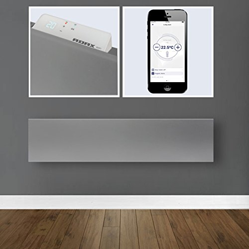 41gi3Nucg7L. SS500  - Adax Neo Wifi Electric Panel Heater (210mm Skirting Height) With Timer & Thermostat. ErP Compliant, Wall Mounted, Splash Proof, Modern. Smart Home Automation Heating. Buy Convector Heaters / Electric Radiators Online.