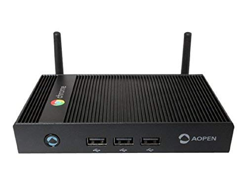 Aopen Chromebox Mini Digitaler Mediaplayer, 16 GB, WLAN, schwarz