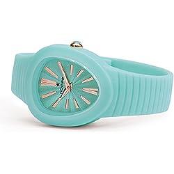 HOOPS Uhren Shape Damen Uhrzeit Cyan - 2519l-05